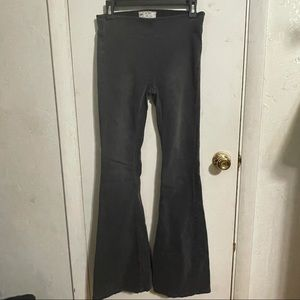 Free People black flare jeans Size 26 womens